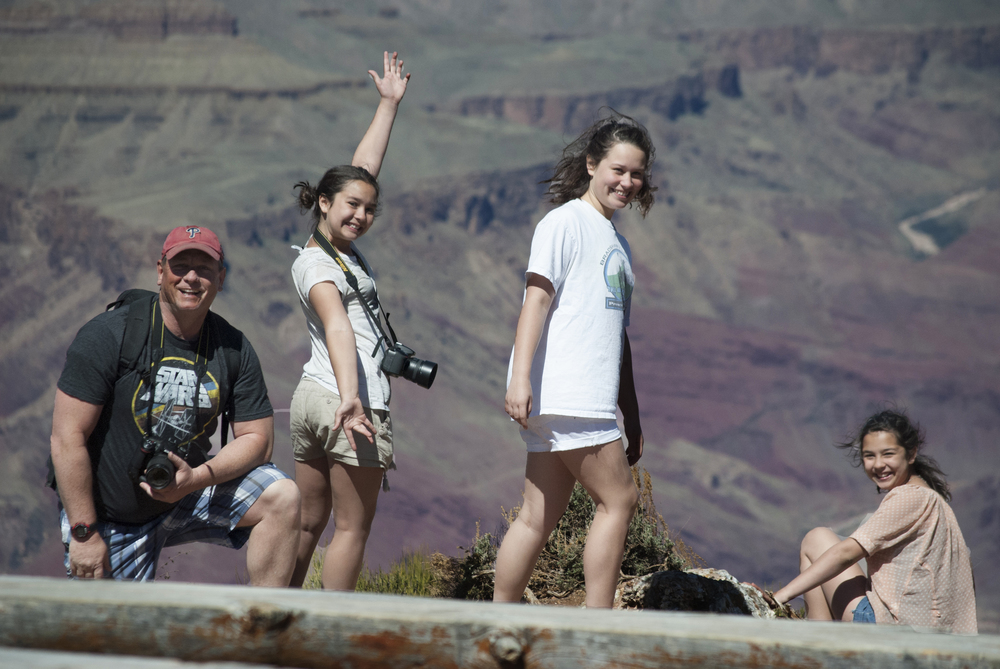 I love this shot that my Aunt Lynn took of my and the girls.