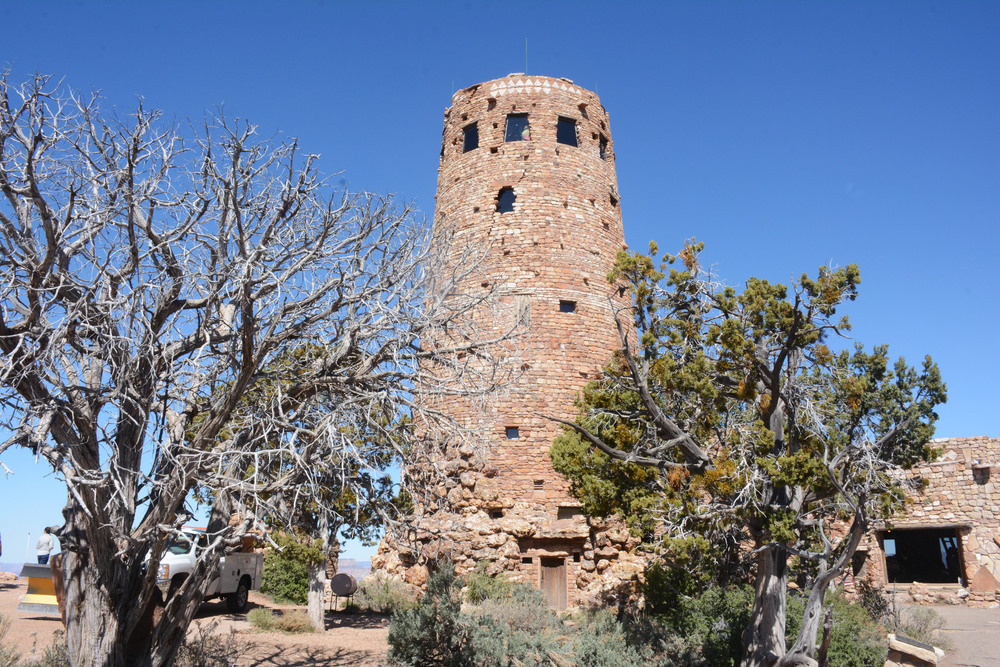 The Indian Watchtower at Desert View