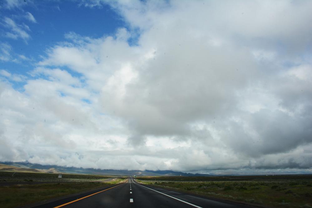 A trite road shot.